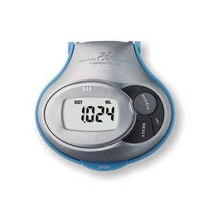 345 Step, Distance Calorie Pedometer