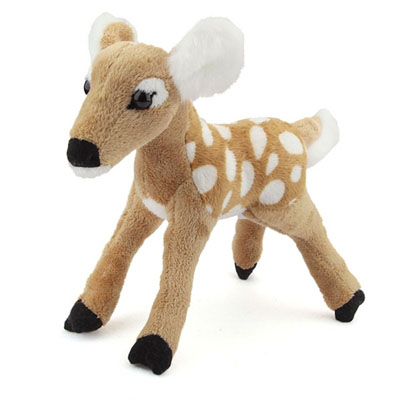 Plush White-Tailed Deer Tawn Conservation Critter