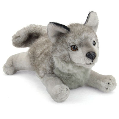 Stuffed Grey Wolf Conservation Critter
