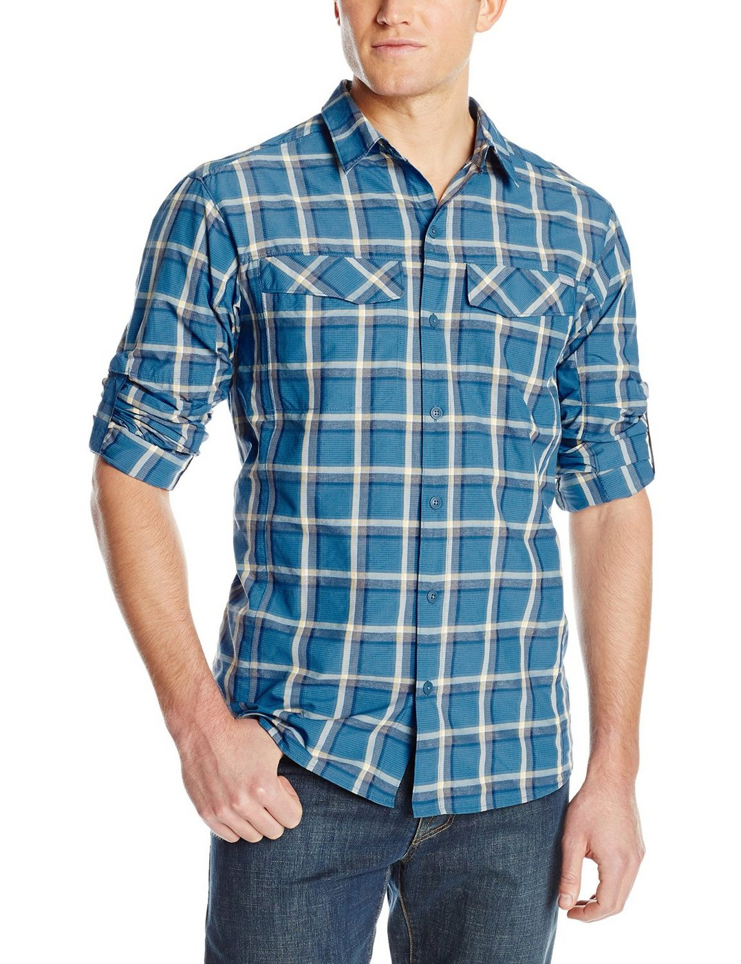 67cb7293d84 Columbia Silver Ridge Plaid Long Sleeve Shirt | Fontana Sports