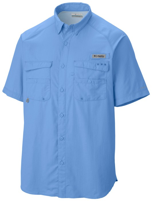 Columbia Men's Baitcaster Short Sleeve Shirt
