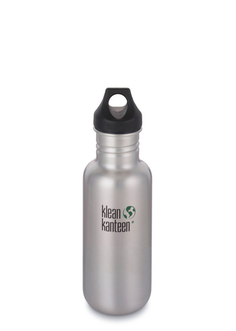 Klean Kanteen Classic 18oz Water Bottle Loop Cap