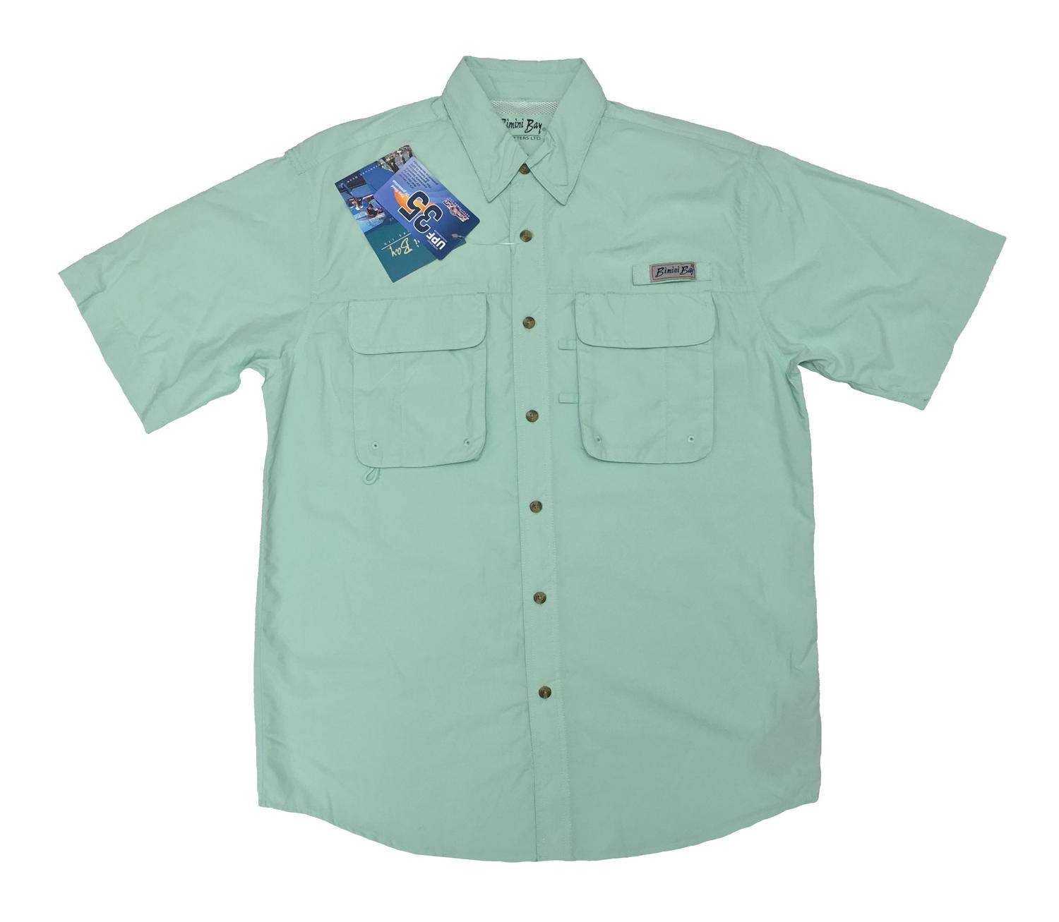 Bimini Bay Men's Flats II Short Sleeve Shirt