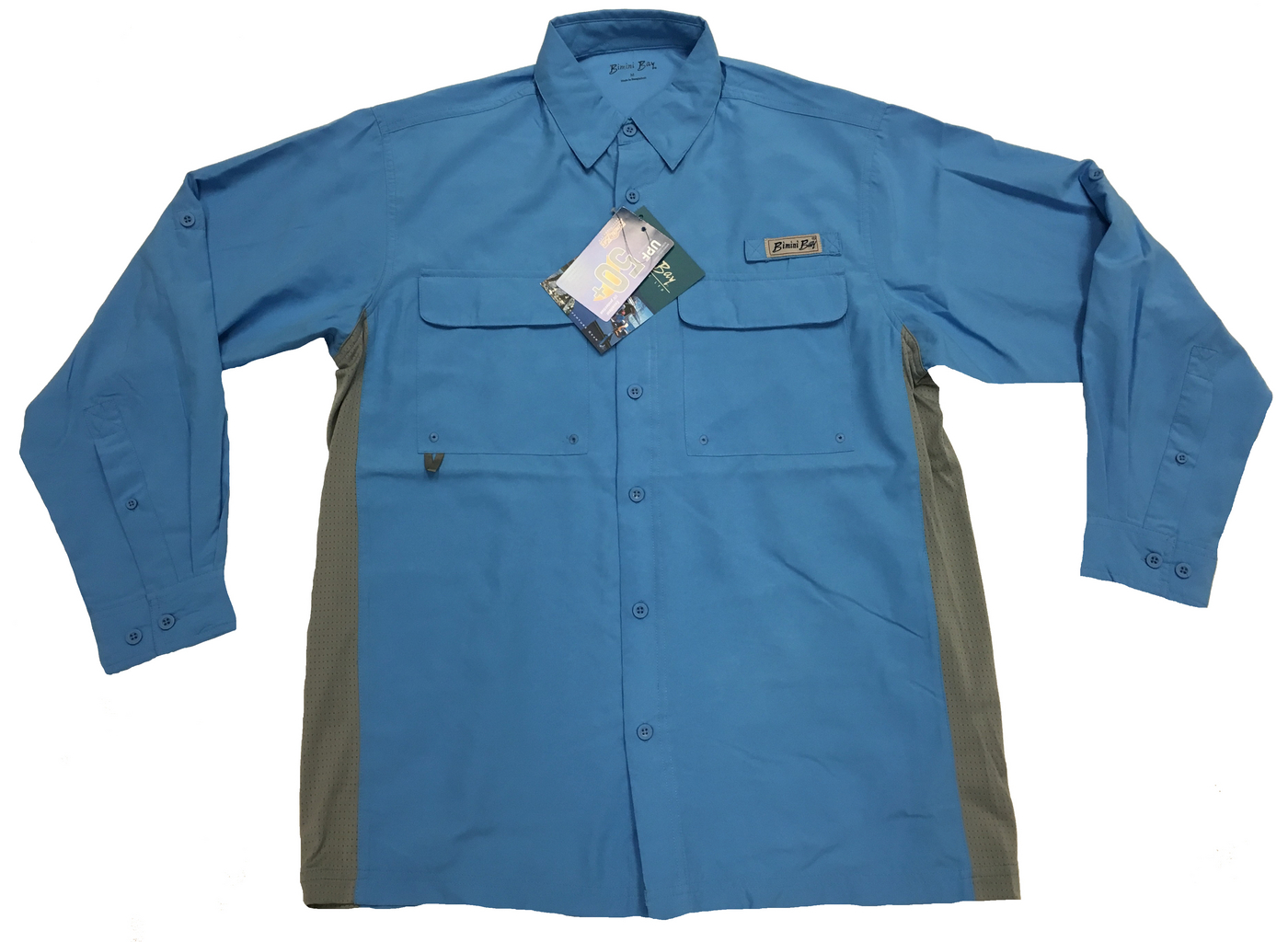 Bimini Bay Men's Gulf Stream Long Sleeve Shirt