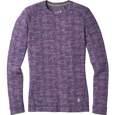 Women's NTS Mid 250 Pattern Crew Baselayer