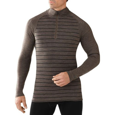 Men's NTS Mid 250 Pattern Zip T Baselayer