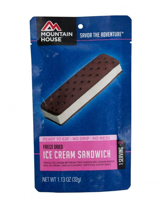 Mountain House Ice Cream Sandwich
