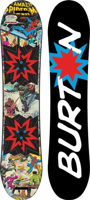 Burton Youth Chopper LTD Marvel Snowboard