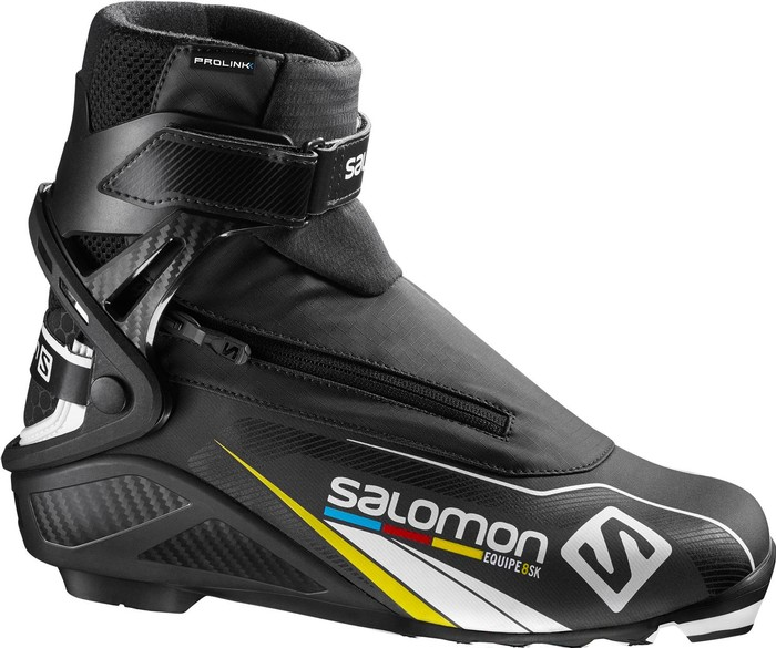 Salomon Men's Equipe 8 Skate Prolink Cross Country Ski Boots
