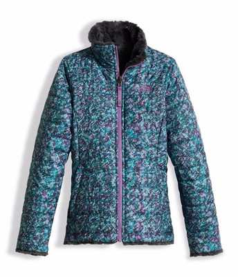 Girls Reversible Mossbud Swirl Jacket