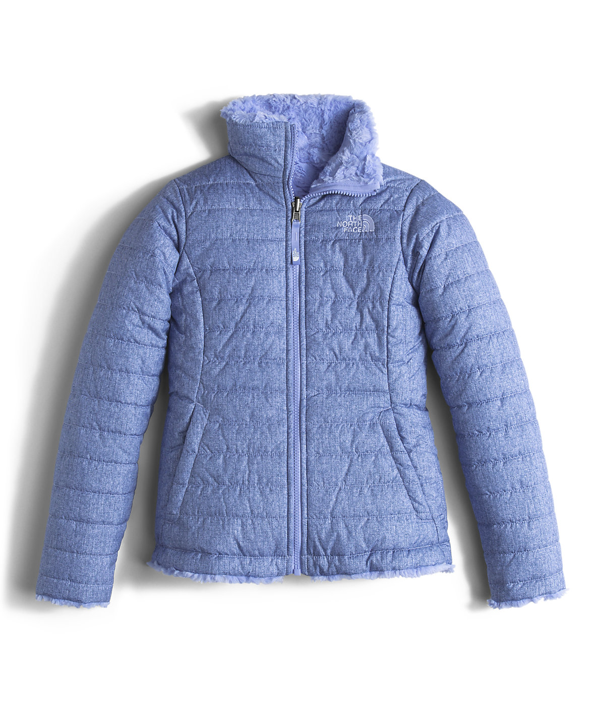 e6a94f1d6 The North Face Girls Reversible Mossbud Swirl Jacket