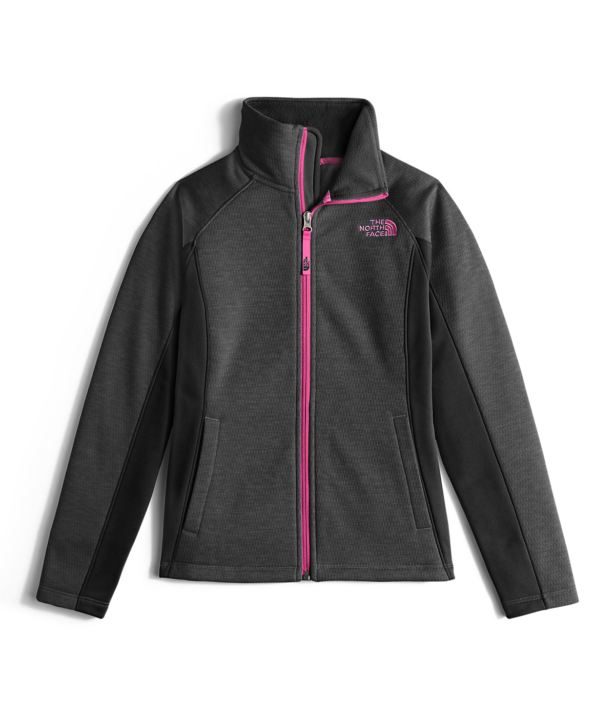 e9d93293f The North Face Girls' Arcata Full Zip Jacket