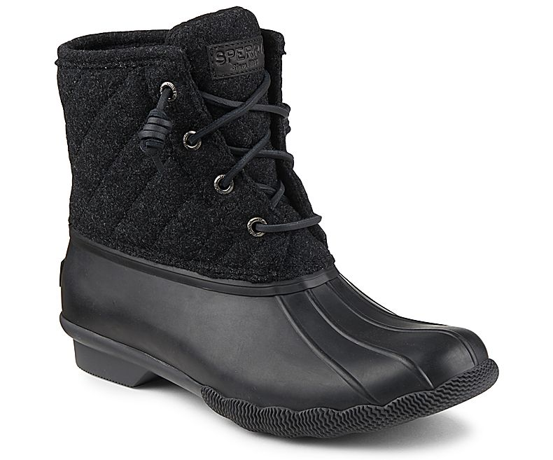 8d1b0b46f Sperry Top Sider Women's Saltwater Quilted Wool Duck Boot
