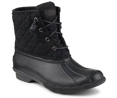 Sperry Top Sider Women S Saltwater Quilted Wool Duck Boot