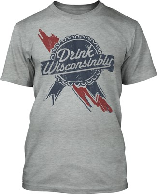 Wisconsinbly Blue Ribbon Shirt