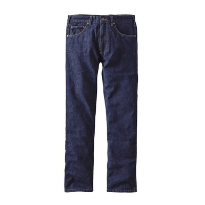 Men's Flannel Lined Straight Fit Jeans