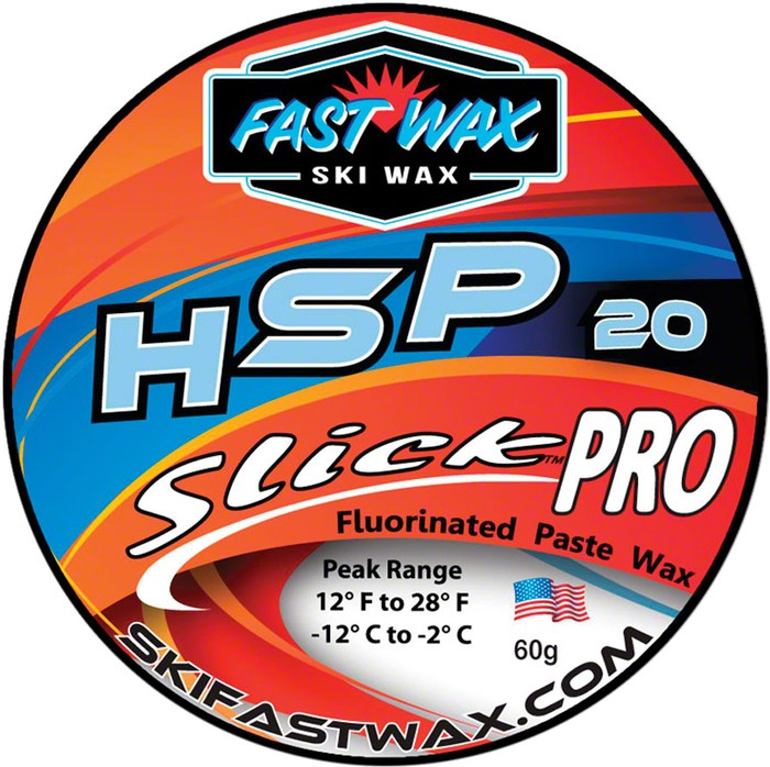 Fast Wax SLICK PRO PASTE WAX BLUE