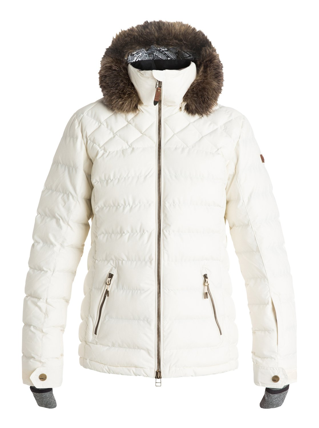 Roxy Women S Quinn Quilted Snow Jacket Fontana Sports