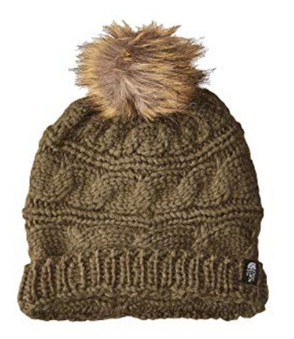 The North Face Women s Triple Cable Fur Pom Beanie 4569f3948fa