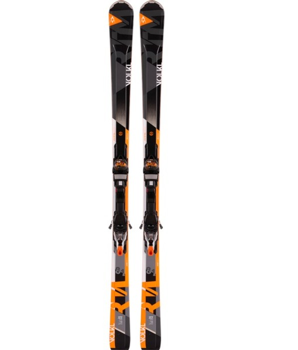 Volkl Men's RTM 81 Skis with IPT WR XL 12.0 TCX D Bindings