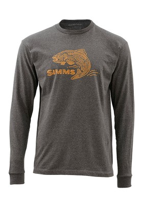 Men's Trout Lines Long Sleeved T-Shirt