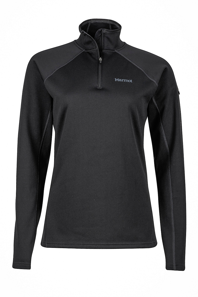 Marmot Women S Stretch Fleece Half Zip Fontana Sports