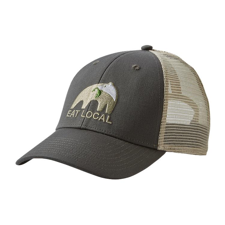 5a8fdcec07 Patagonia Eat Local Upstream LoPro Trucker Hat