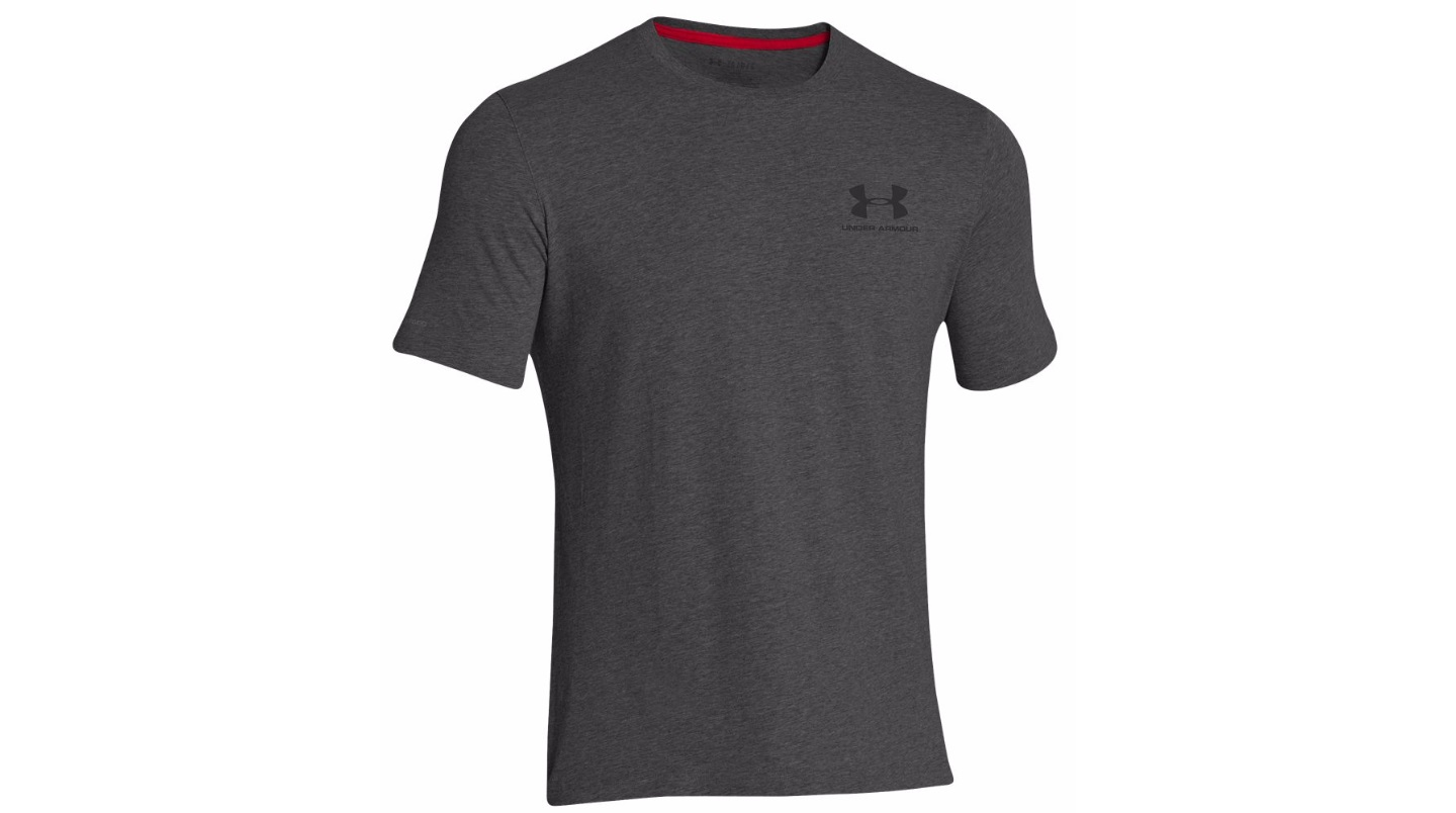 Under armour men 39 s charged cotton sportstyle s s t shirt for Under armour charged cotton shirts mens