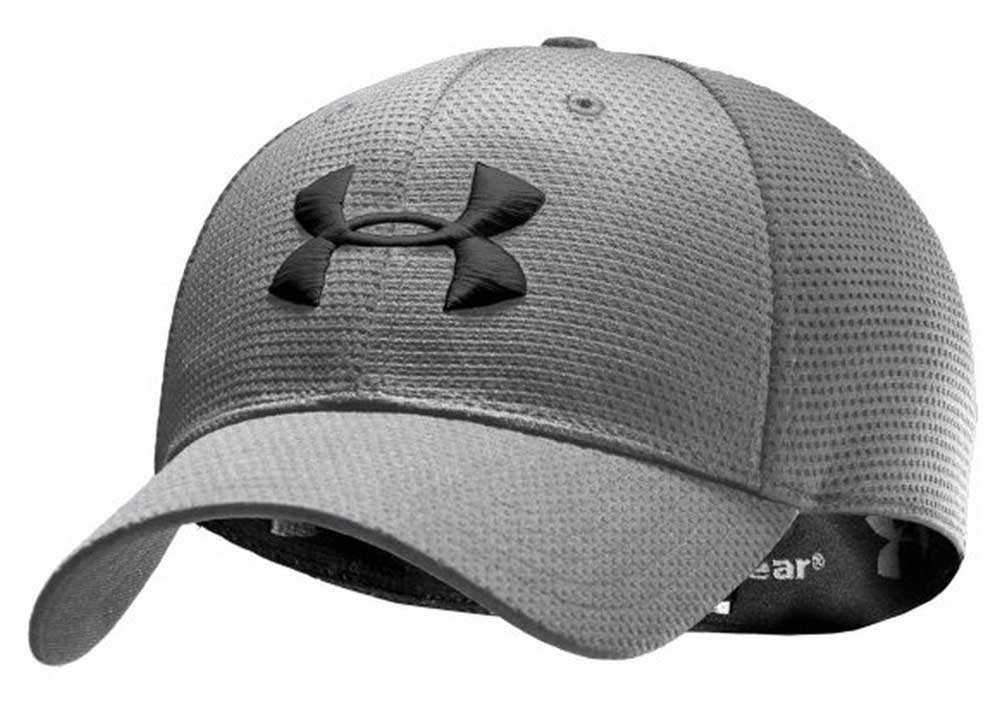 29204644252 ... Black Under Armour Mens Blitzing II Stretch Fit Cap ...