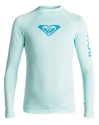 Girl's Whole Hearted Long Sleeve Rashguard