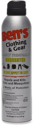 Ben`s Clothing and Gear Insect Repellent