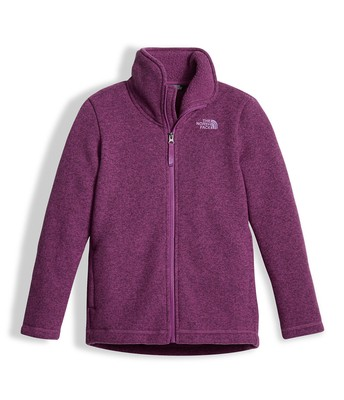 GIRLS' CRESCENT FULL ZIP
