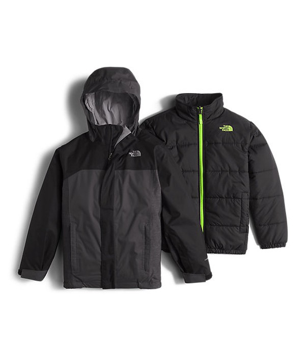 cad961efd The North Face BOYS' BOUNDARY TRICLIMATE® JACKET
