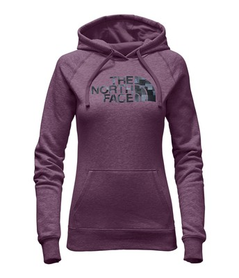 WOMEN'S PATTERNED HALF DOME PULLOVER