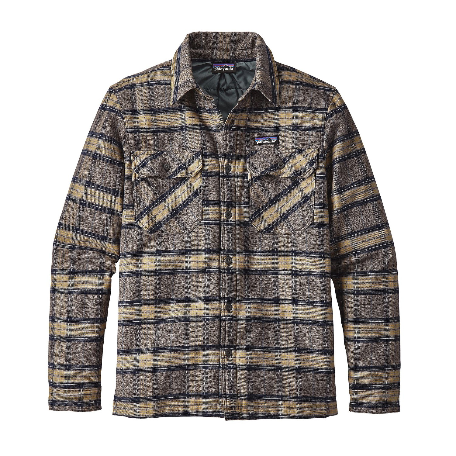 Patagonia Men S Insulated Fjord Flannel Jacket Fontana