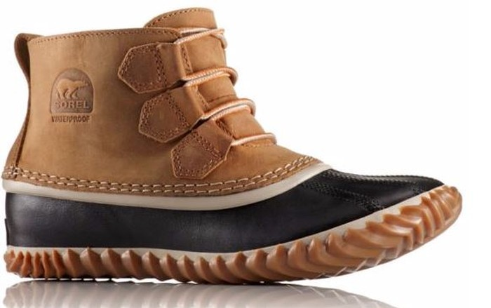 Sorel WOMEN'S OUT N ABOUT™ LEATHER DUCK BOOT