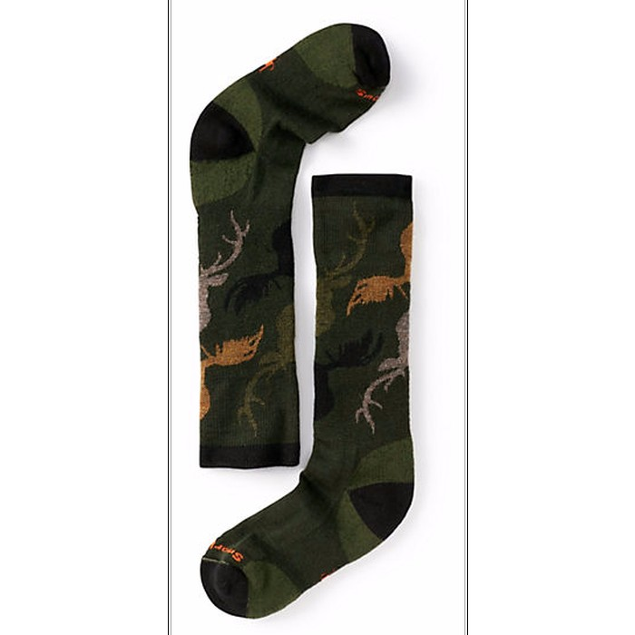 Smartwool Boys' Wintersport Camo Socks