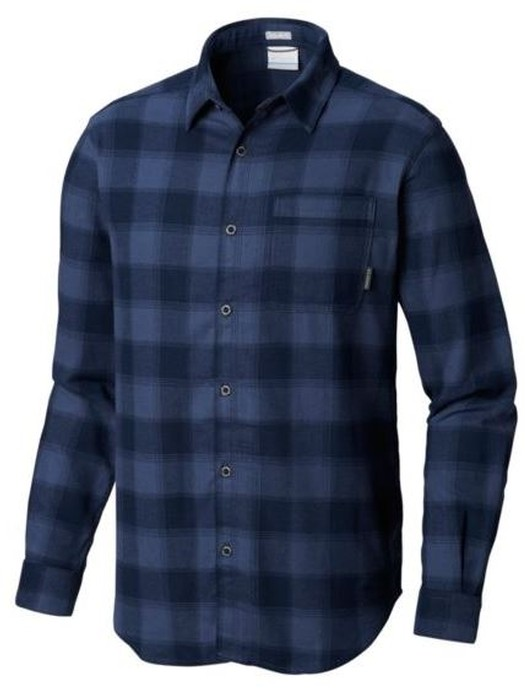Columbia MEN'S BOULDER RIDGE™ LONG SLEEVE FLANNEL SHIRT