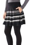 Smartwool Women's Cascade Valley Stripe Skater Skirt