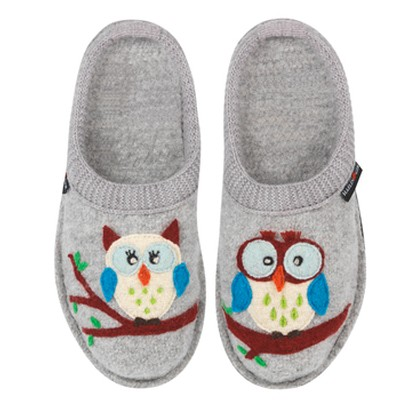 Boiled Wool Soft Sole Slippers