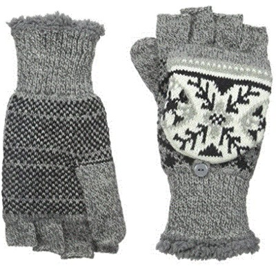 Women's Snow Star Convertible Mittens