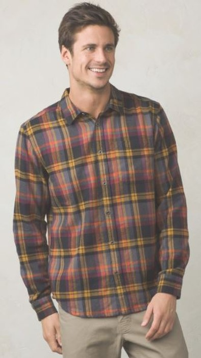 Prana Woodman Lightweight Flannel
