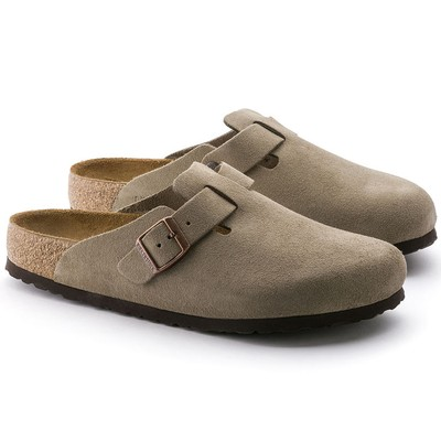 Boston Suede Classic Footbed