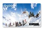 Fontana Sports $400 Gift Card
