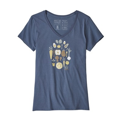 Harvest Haul Organic V-Neck T-Shirt