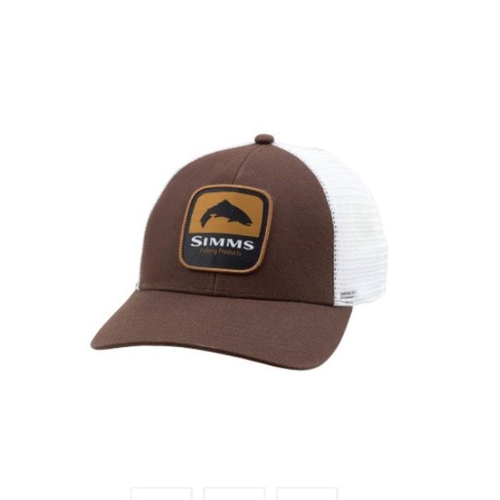 ffd818135e0e4 Simms Trout Patch Trucker Hat