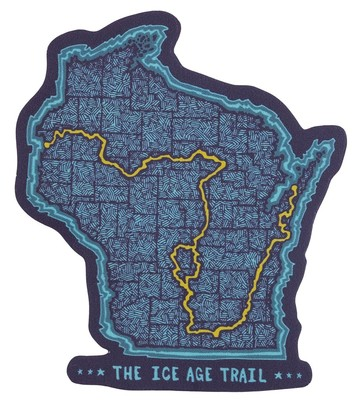 Ice Age Trail Sticker