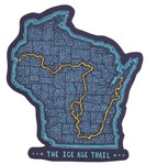 Seek Dry Goods Ice Age Trail Sticker