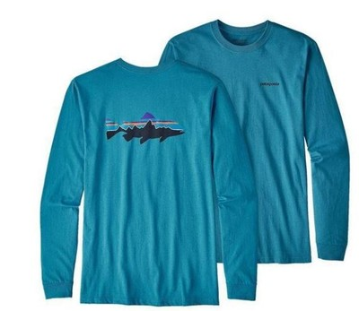 Men's Long-Sleeved Fitz Roy Trout Responsibili-Tee®