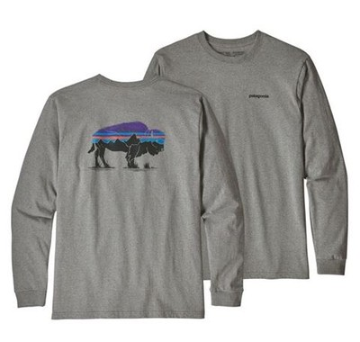 MEN'S FITZ ROY BISON LONG SLEEVE RESPONSIBILI-TEE